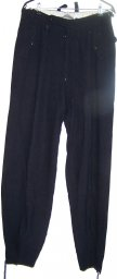 HJ DJ Ueberfallhose, winter sport blue wool trousers