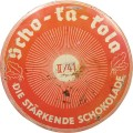 Milk chocolate for Wehrmacht II / 41 tin, Scho-ka-kola.