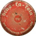 Scho-ka-kola chocolate empty tin for Wehrmacht. 1941 Wehrmacht Packung