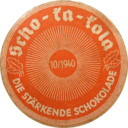 Chocolate cardboard  package  for the Wehrmacht. October 1940. Scho-ka-kola. SchokoBück