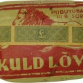 "WW2 Tobacco ""Kuld Lovi"" with its original content used by Wehrmacht and SS"