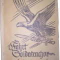 Luftwaffe Soldiers album-diary, belonged to the Musician of Luftwaffengaukommando